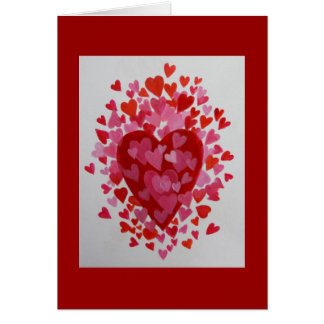 Hapy Valentine's Day Greeting Card