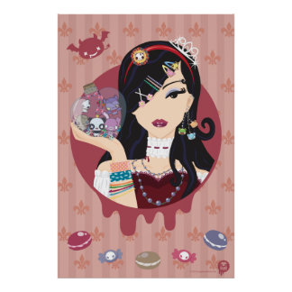 Harajuku Lolita Girl Mayumi Poster
