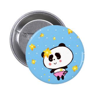 Harajuku Pandas fashion Cute Panda 6 Cm Round Badge