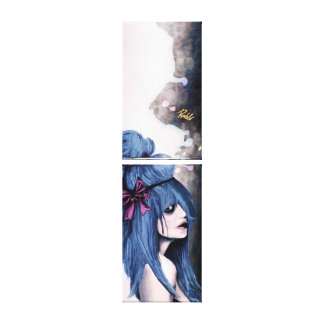 Harajuku style canvas prints