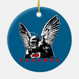 Harambe Christmas Ornament