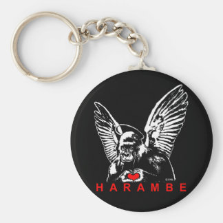 Harambe Key Ring