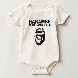 Harambe McHarambeface Baby Bodysuit