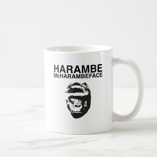 Harambe McHarambeface Coffee Mug