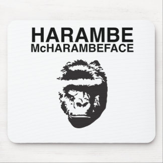 Harambe McHarambeface Mouse Mat