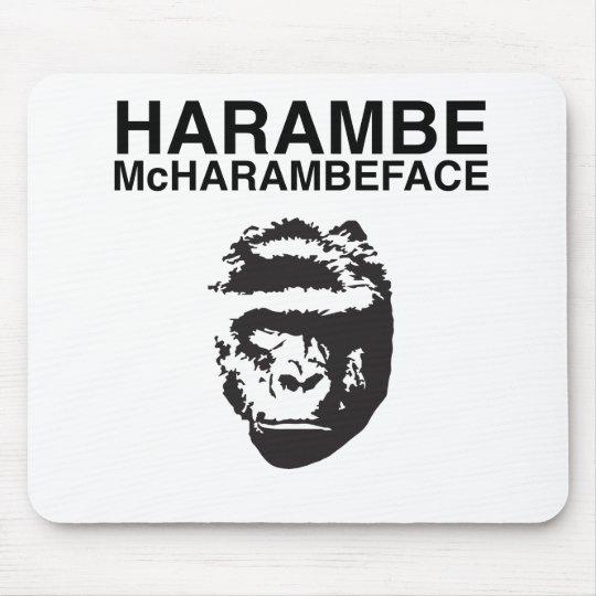 Harambe McHarambeface Mouse Mat