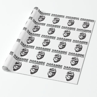 Harambe McHarambeface Wrapping Paper