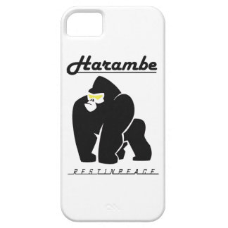 HARAMBE REST IN PEACE T-SHIRT iPhone 5 CASE