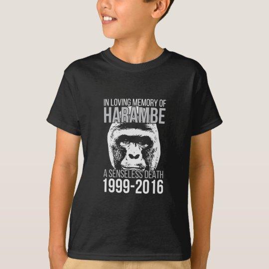 Harambe Senseless Death T-Shirt