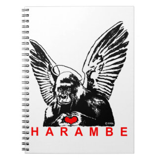 Harambe Spiral Notebook