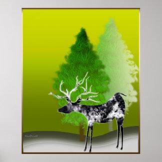 Harbinger of Merry Xmas Poster