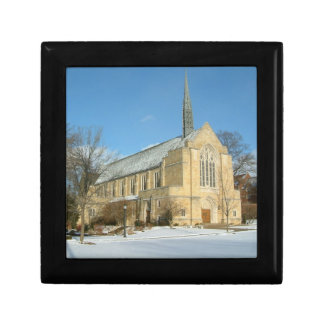Harbison Chapel in Winter at Grove City College Gift Box
