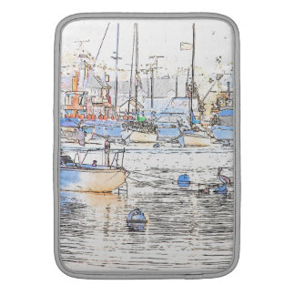 Harbor Art Rickshaw Laptop Sleeve
