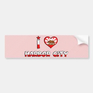 Harbor City, CA Car Bumper Sticker