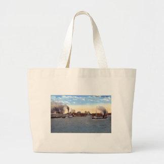 Harbor, Detroit, Michigan c1915 Vintage Bag