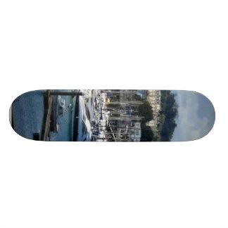 Harbor In Torquay Custom Skate Board