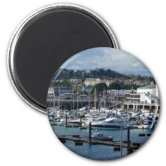 Harbor In Torquay Magnet