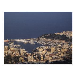 Harbor, Monte Carlo, French Riviera, Cote d' 2 Postcard
