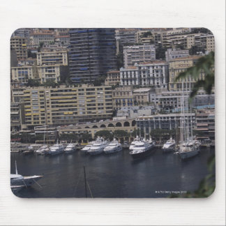 Harbor, Monte Carlo, French Riviera, Cote d' Mouse Pad