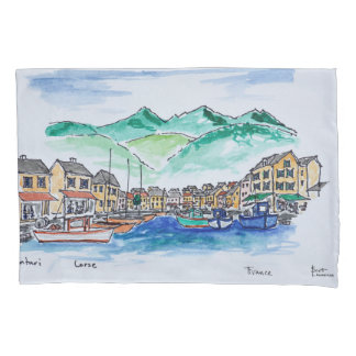 Harbor of Centuri | Corsica, France Pillowcase