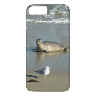Harbor Seal at La Jolla California iPhone 8 Plus/7 Plus Case