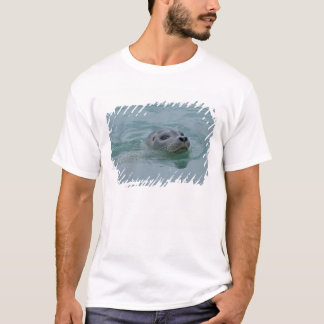 Harbor Seal swimming in Jokulsarlon glacial lake T-Shirt