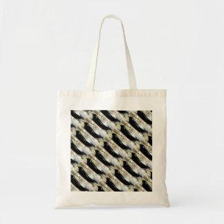 harbor seals pattern tote bag