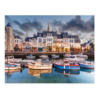 Harbor Town of Le Croisic France Postcard