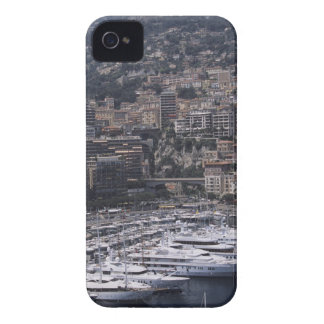 Harbor, vertical view, Monte Carlo, French iPhone 4 Case-Mate Case