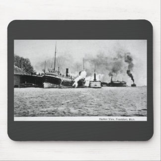 Harbor View, Frankfort, Michigan Mouse Mat