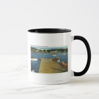 Harbor View from East Side of Yacht Club Mug