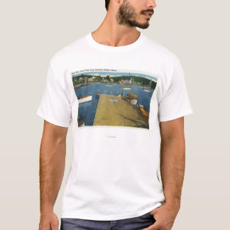 Harbor View from East Side of Yacht Club T-Shirt