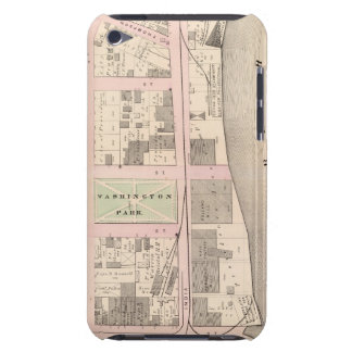 Harbor Washington Park Atlas Map Barely There iPod Cases