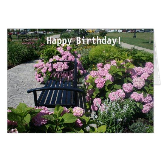 """Harborside Park"" Happy Birthday Card"