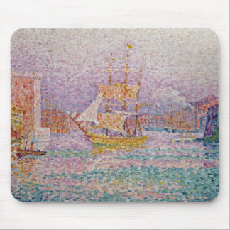 Harbour at Marseilles, c.1906 Mouse Mat