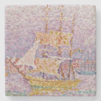 Harbour at Marseilles, c.1906 Stone Coaster