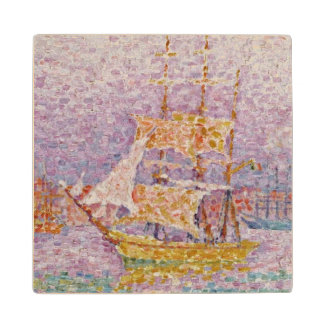 Harbour at Marseilles, c.1906 Wood Coaster