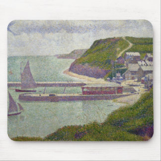 Harbour at Port-en-Bessin at High Tide, 1888 Mouse Mat
