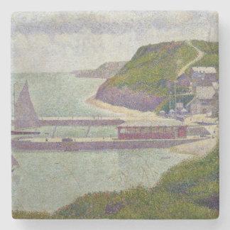 Harbour at Port-en-Bessin at High Tide, 1888 Stone Coaster