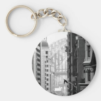 Harbour Bridge View 1 Key Ring
