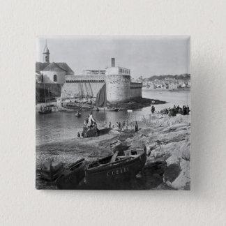 Harbour, Concarneau 15 Cm Square Badge
