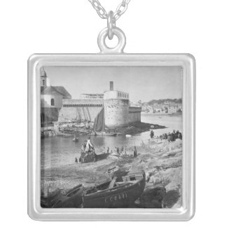 Harbour, Concarneau Silver Plated Necklace