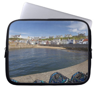 Harbour, Findochty, Moray, Scotland, United Laptop Sleeve