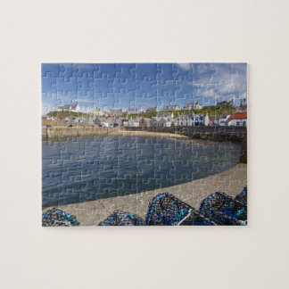Harbour, Findochty, Moray, Scotland, United Puzzles