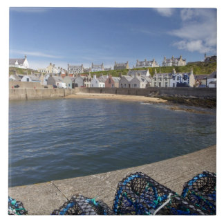 Harbour, Findochty, Moray, Scotland, United Tile