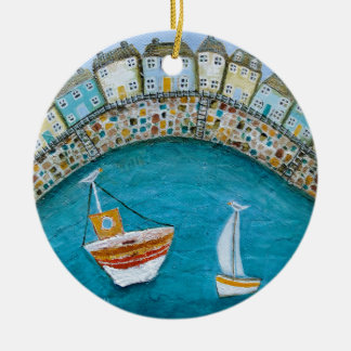 Harbour Houses Christmas Ornament