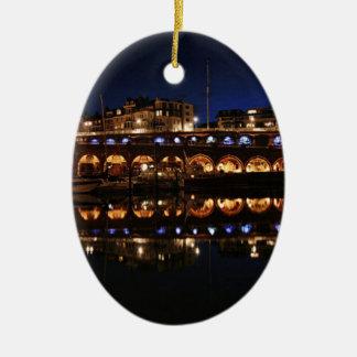 harbour.jpg ceramic oval decoration