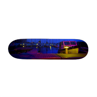 Harbour Night Skate Deck
