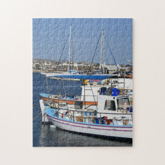 Harbour of Paphos Jigsaw Puzzle