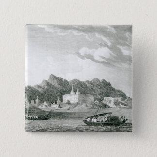 Harbour of Rio Janiero 15 Cm Square Badge